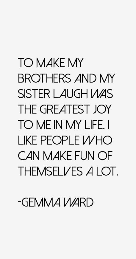 Gemma Ward Quotes