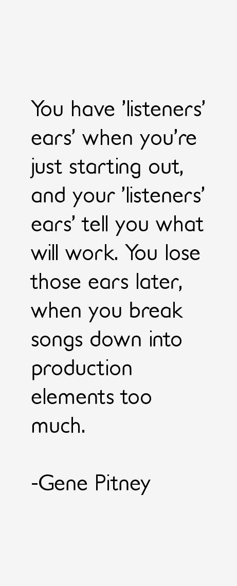 Gene Pitney Quotes