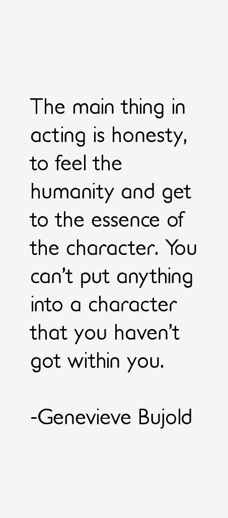 Genevieve Bujold Quotes