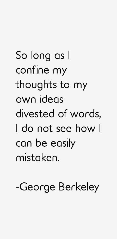 George Berkeley Quotes