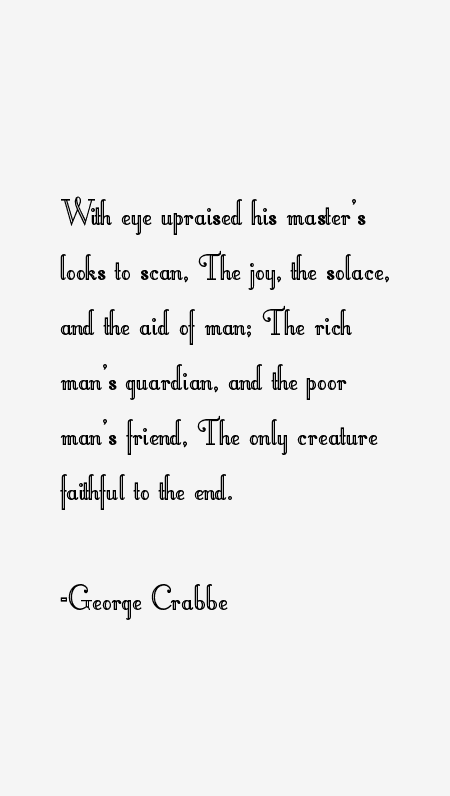 George Crabbe Quotes