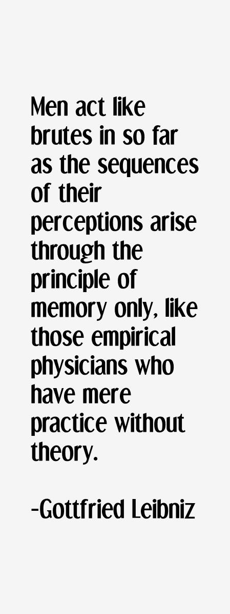 Gottfried Leibniz Quotes & Sayings
