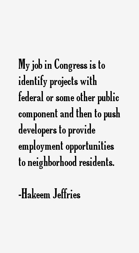 Hakeem Jeffries Quotes