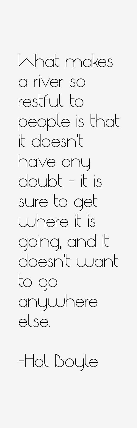 Hal Boyle Quotes