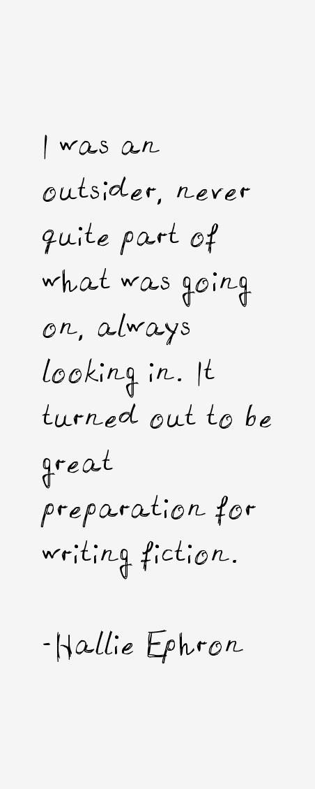 Hallie Ephron Quotes