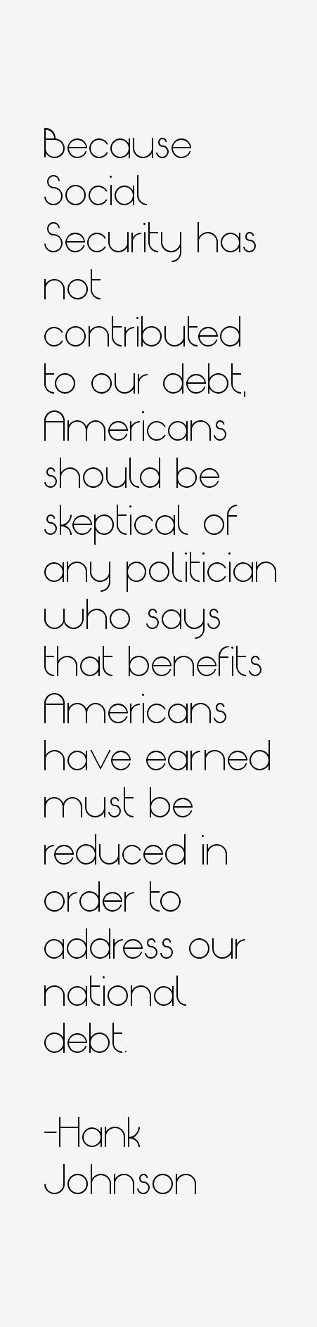 Hank Johnson Quotes