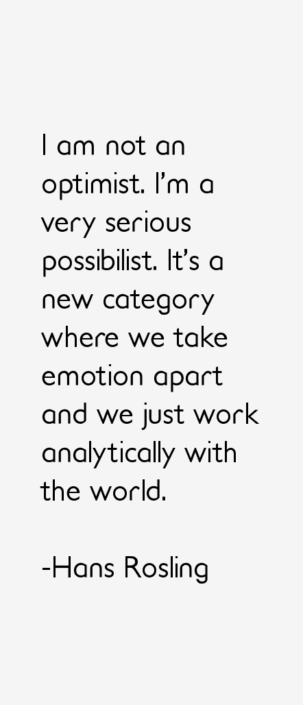 Hans Rosling Quotes