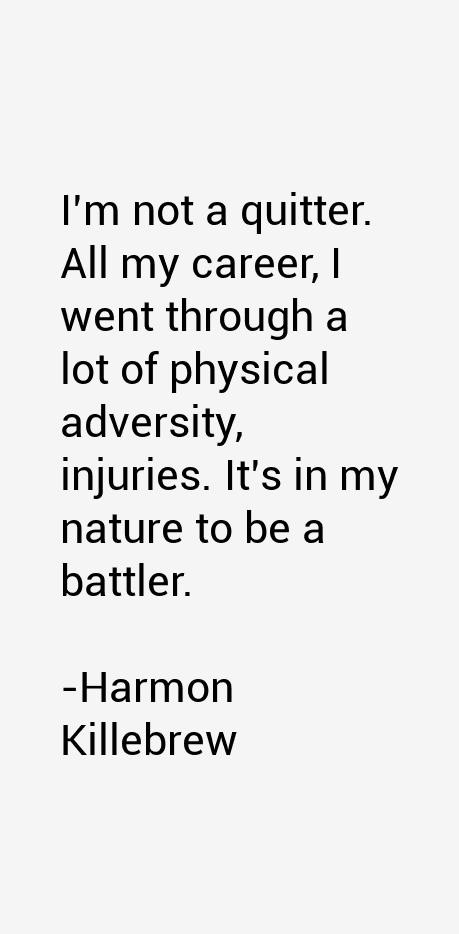 Harmon Killebrew Quotes