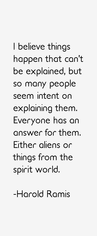 Harold Ramis Quotes