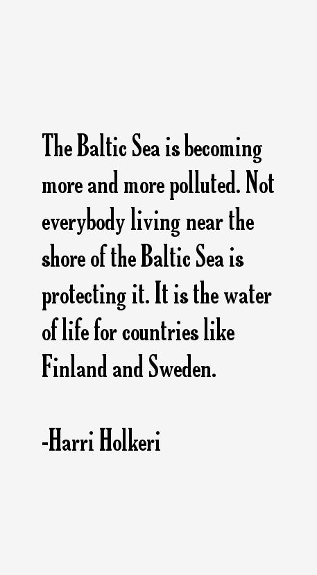 Harri Holkeri Quotes