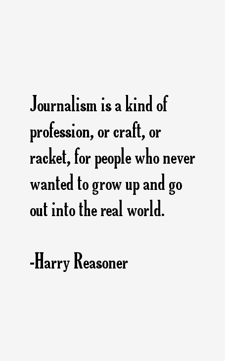 Harry Reasoner Quotes