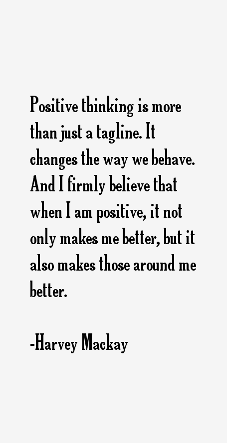 Harvey Mackay Quotes