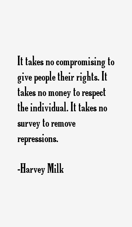Harvey Milk Quotes