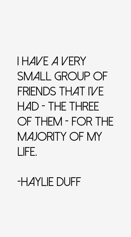 Haylie Duff Quotes