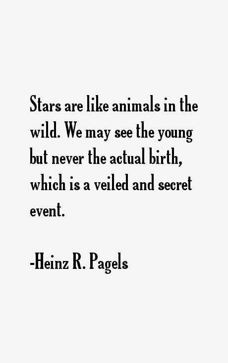Heinz R. Pagels Quotes