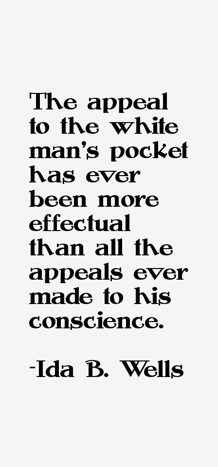 Ida B. Wells Quotes