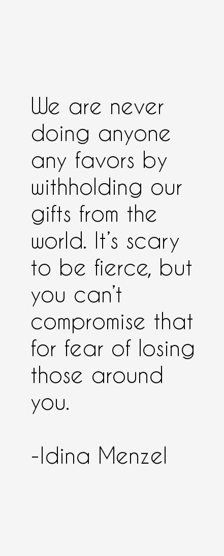 Idina Menzel Quotes