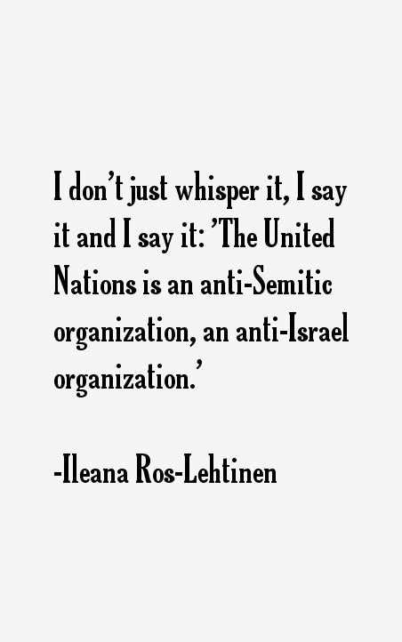 Ileana Ros-Lehtinen Quotes