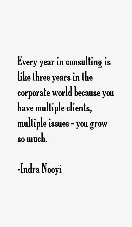 Indra Nooyi Quotes