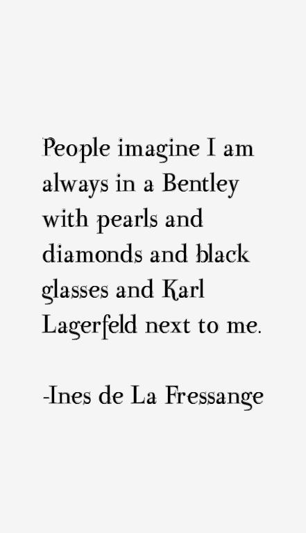 Ines de La Fressange Quotes