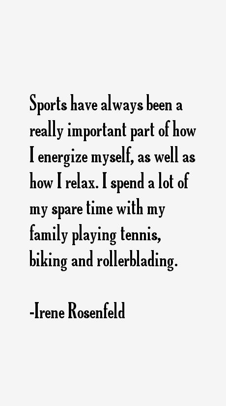Irene Rosenfeld Quotes