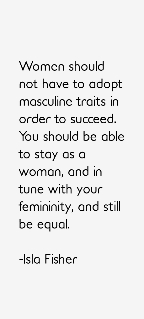 Isla Fisher Quotes