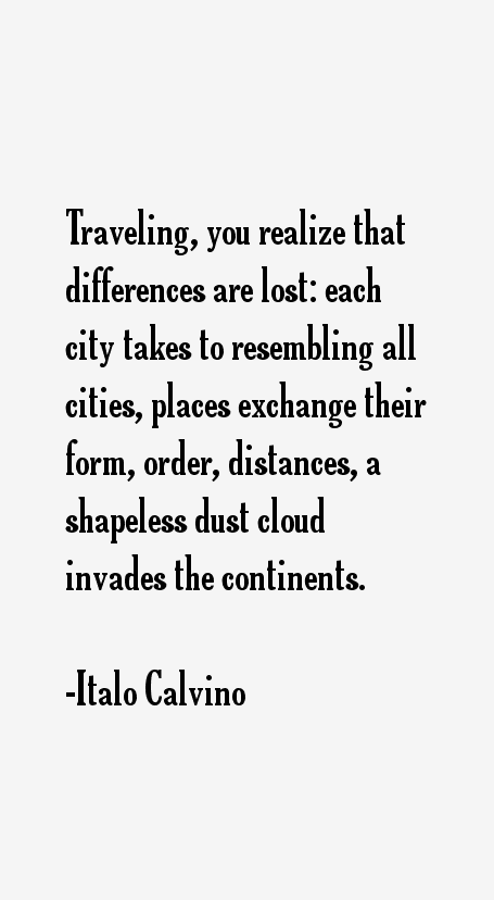 Italo Calvino Quotes