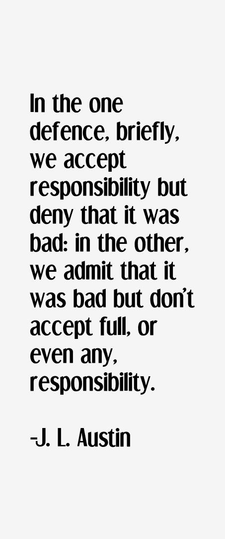 J. L. Austin Quotes