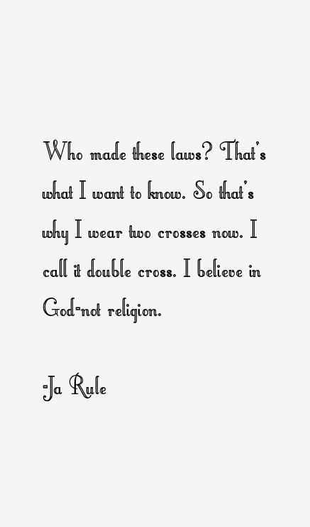 Ja Rule Quotes