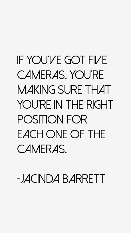 Jacinda Barrett Quotes