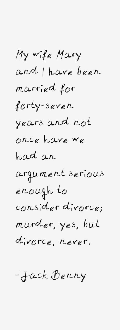 Jack Benny Quotes