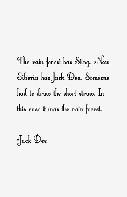 Jack Dee Quotes