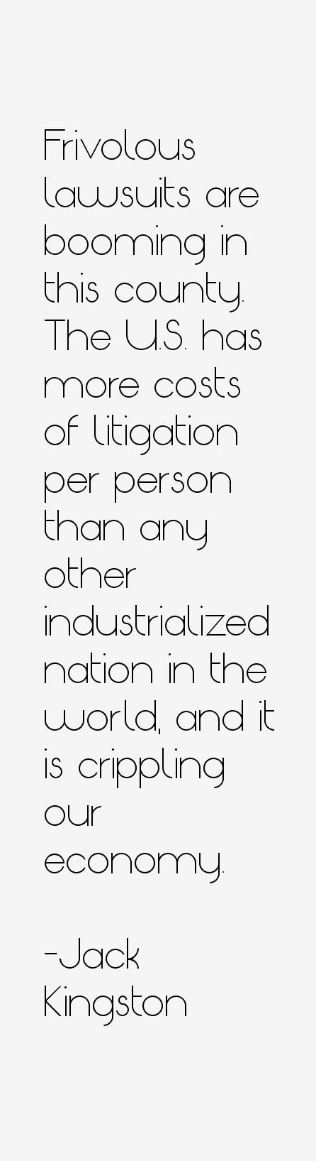 Jack Kingston Quotes