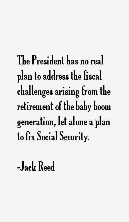 Jack Reed Quotes