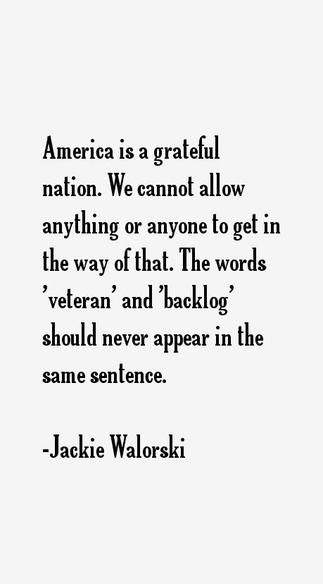 Jackie Walorski Quotes