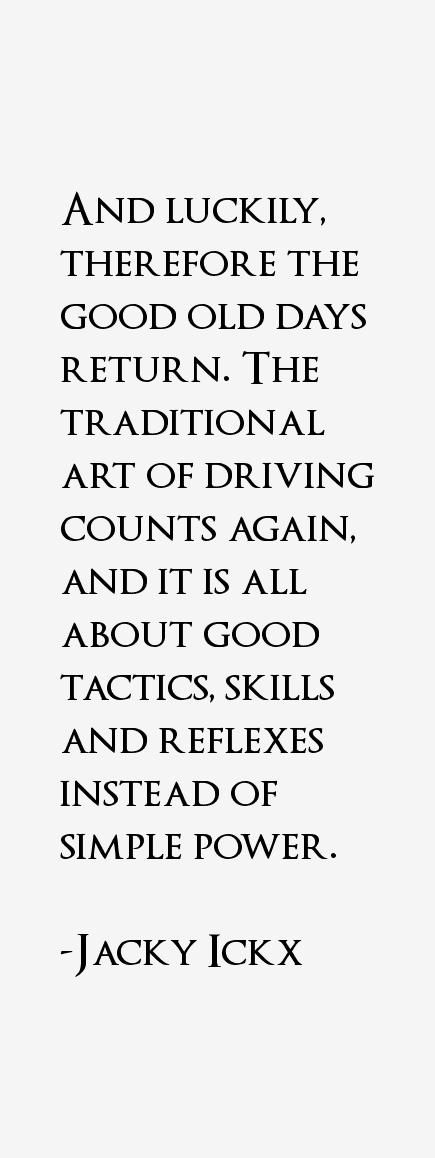 Jacky Ickx Quotes