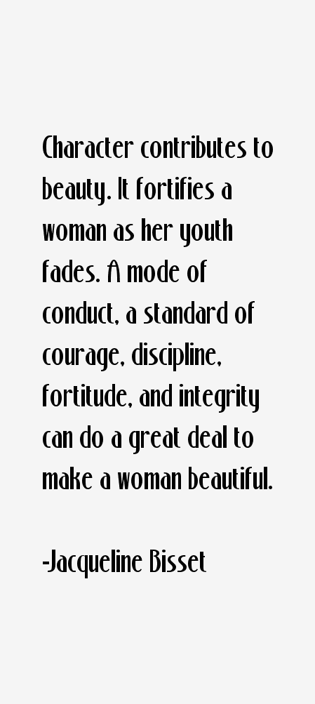 Jacqueline Bisset Quotes