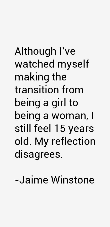 Jaime Winstone Quotes