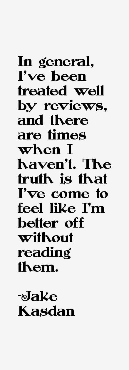 Jake Kasdan Quotes