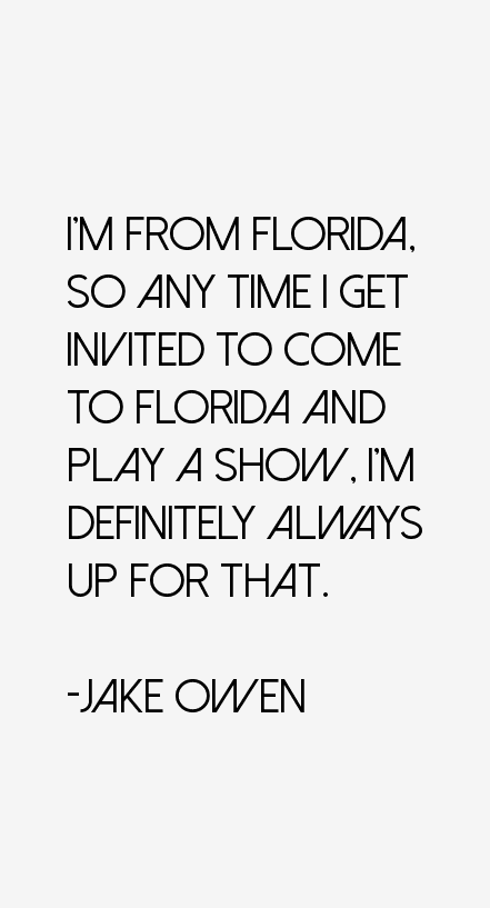 Jake Owen Quotes