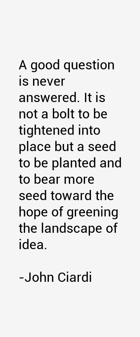John Ciardi Quotes