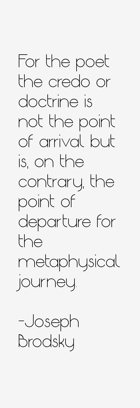 Joseph Brodsky Quotes