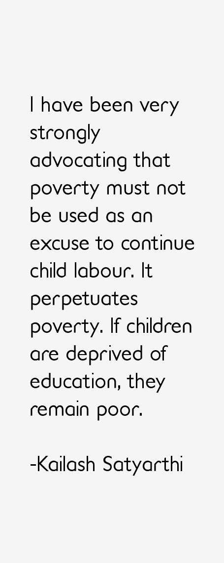 Kailash Satyarthi Quotes
