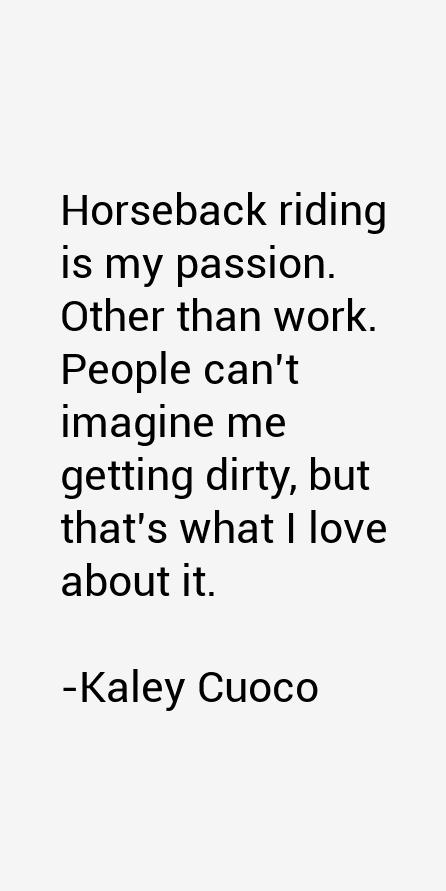 Kaley Cuoco Quotes