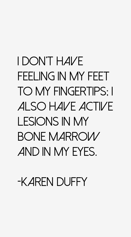 Karen Duffy Quotes