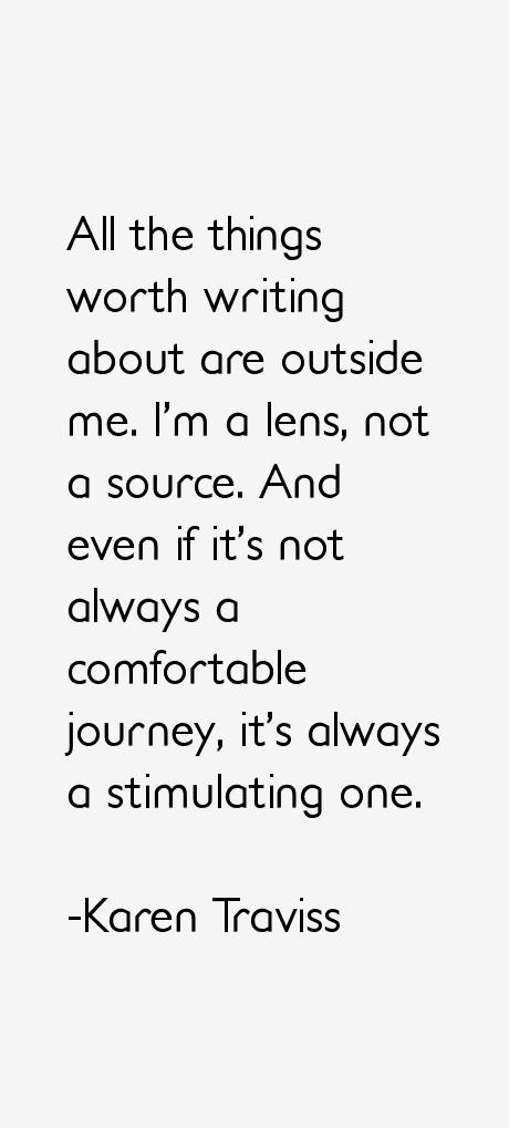 Karen Traviss Quotes