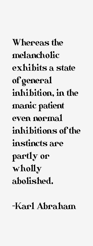 Karl Abraham Quotes