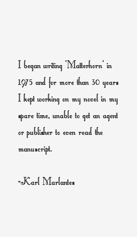 Karl Marlantes Quotes
