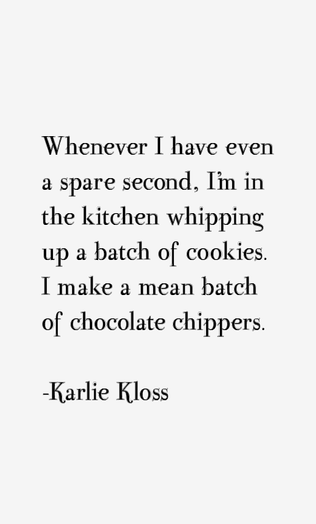 Karlie Kloss Quotes