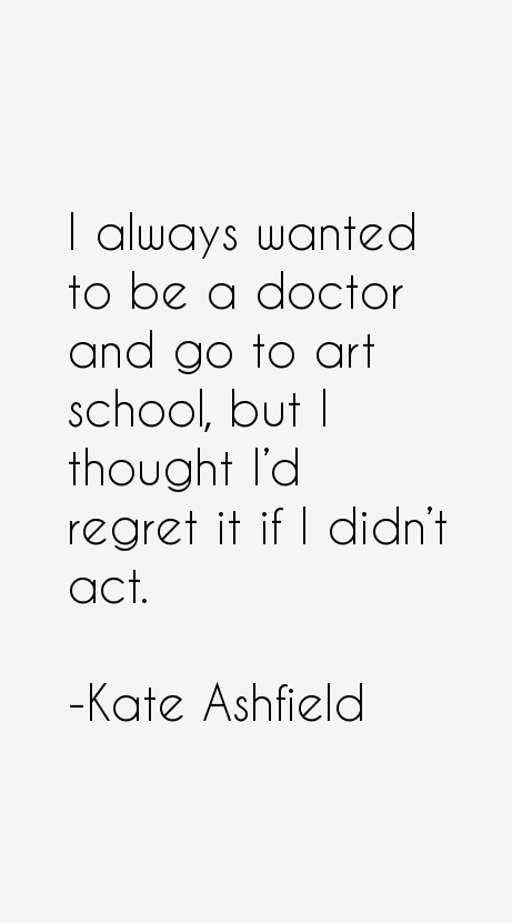 Kate Ashfield Quotes
